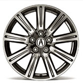 19 INCH CHROME-LOOK ALLOY WHEEL (part number:)