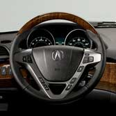 WOOD-GRAIN STEERING WHEEL (part number:)