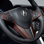 WOOD-GRAIN STEERING WHEEL TRIM (part number:)