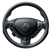 SPORT LEATHER STEERING WHEEL (part number:)