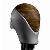 WOOD-GRAIN & LEATHER SELECT KNOB (part number:)