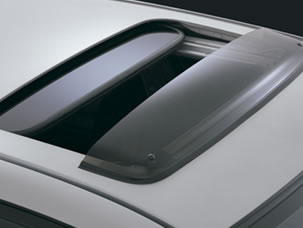 MOONROOF VISOR (EX ONLY) (part number:)