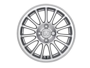 "15"" 15-SPOKE ALLOY WHEELS (part number:)"