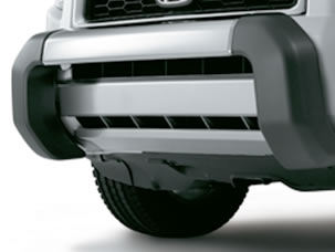 FRONT LOWER TRIM—BRUSH GUARD STYLE (part number:)