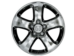 "17"" 5-SPOKE CHROME-LOOK ALLOY WHEELS (part number:)"