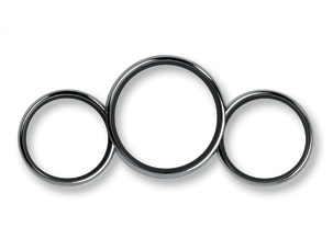 CHROME METER RING (part number:)