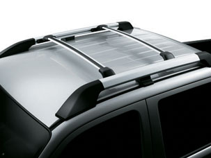 ROOF RACK, SILVER (part number:)