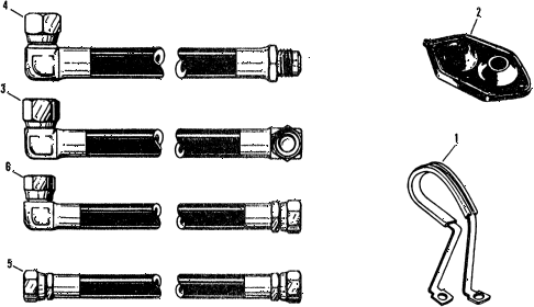 1975 civic ** 5 DOOR 4MT A/C HOSE (TYPE-1) diagram