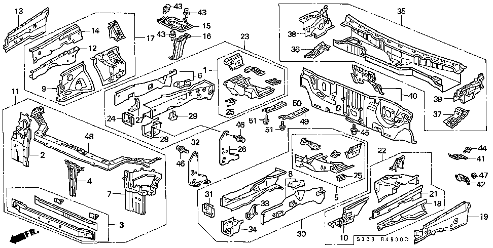 F  23 furthermore Ersatzteillisten further 544822 Question With Picture Seeking A Bushing likewise E01 in addition E  10. on honda parts diagram