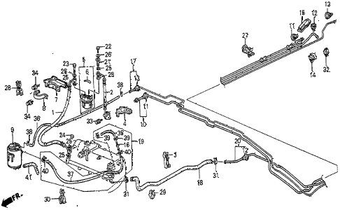 1985 prelude SI 2 DOOR 5MT CANISTER (2) diagram