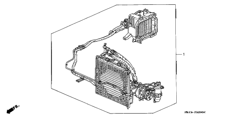 1992 civic DX 3 DOOR 5MT KIT diagram