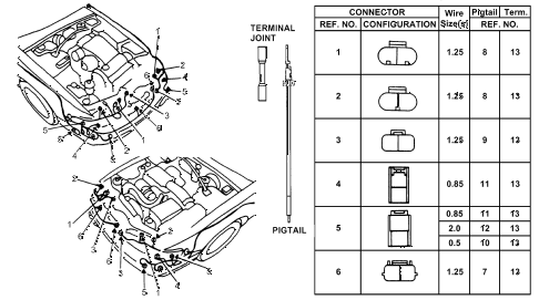 Wiring Diagram For A 7 Pin Trailer Socket besides 7 Pin Trailer Pigtail Wiring Diagram further Hyundai Wiring Harness Connectors besides 7 Way Pigtail Wiring Diagram moreover Wiring Diagram Of Trailer Kes Also 7 Pin. on c er plug wiring diagram