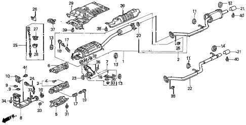 3 12 X 1 4 Connector Bolt moreover Honda Odyssey Exhaust System Diagram in addition C31f177c71018e3b as well 5 Wire Lock Pin also 5 Wire Door Lock Type. on view acura parts catalog detail