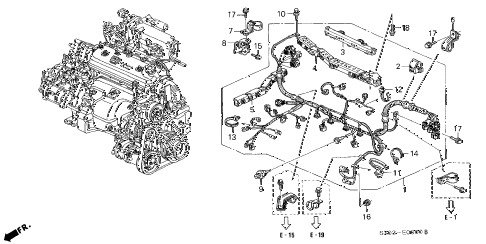 View Honda Parts Catalog Detail also Steering column assembly remove and install furthermore Fur Bean Bags besides View Honda Parts Catalog Detail also View Acura Parts Catalog Detail. on harness clip wire holder