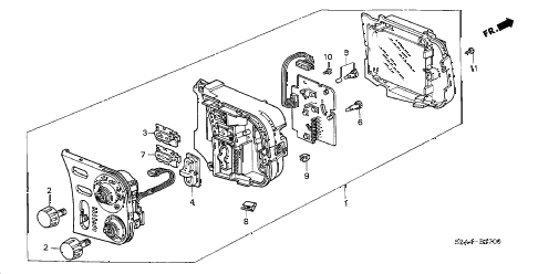 2007 s2000 S2000 2 DOOR 6MT HEATER CONTROL diagram