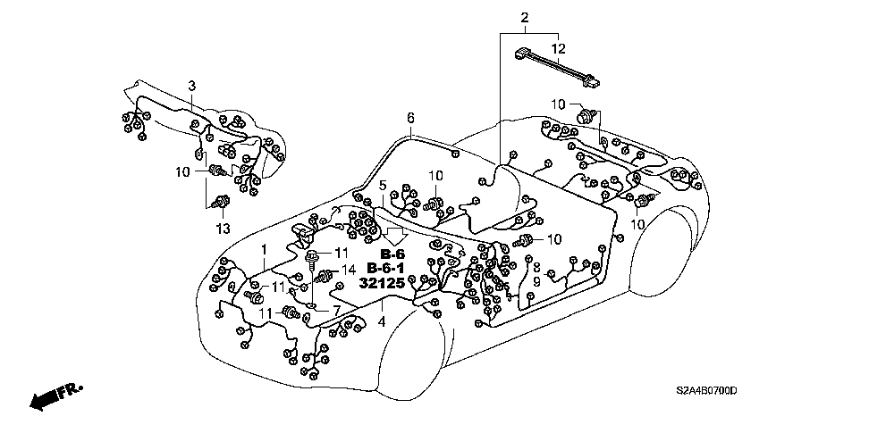 S2A4B0700D honda estore s2000 power steering wiring diagram at fashall.co