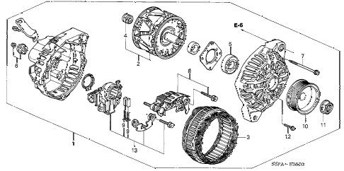 2005 civic EX(SIDE S