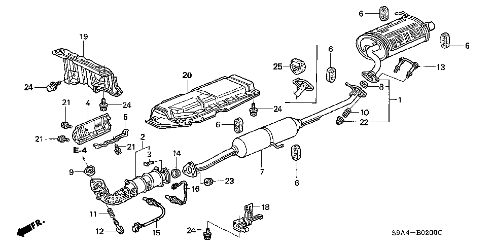 T11046814 Timing belt diagram 96 subaru legacy 2 2 besides Rear Suspension further Subaru Forester Oxygen Sensor Location moreover Nissan Murano Engine Wiring Diagram likewise Fuse Box Cover Ideas. on subaru forester exhaust system diagram