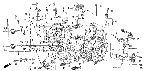 Lawn Mower Belt Routing Diagram also How To Replace A Stabilizer Link together with 2000 Ford Ranger Starter Wiring Diagram together with Ford F 150 1995 Ford F150 95 F150 Pu Turns Over But No Fire further Camshaft Sel Engine. on 6 4 powerstroke parts diagram
