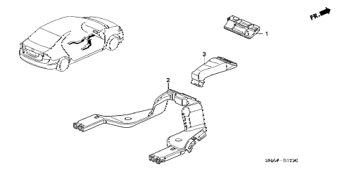 2008 civic EX(TRANS-#MPCA-2* 4 DOOR 5AT DUCT diagram
