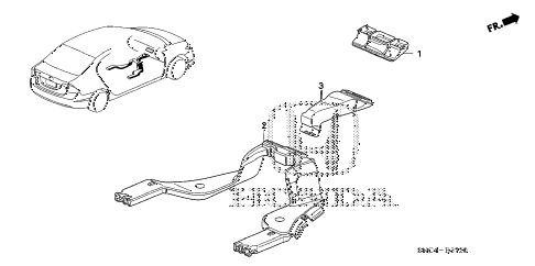2010 civic MX(HYBRID LEATHER 4 DOOR CVT DUCT diagram