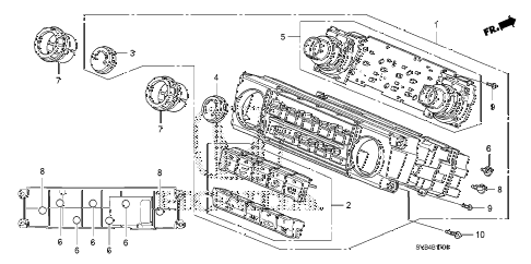 2011 civic SI(HPT) 2 DOOR 6MT HEATER CONTROL diagram