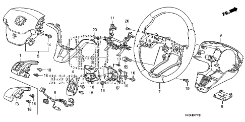 metra wiring harness gm with Honda Steering Wheel Diagram on 322307121866 additionally Honda Steering Wheel Diagram also 6t70 Transmission How To Release Wire Harness as well Honda Steering Wheel Diagram likewise Harness Wiring Mercedes.