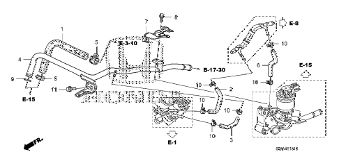 Honda Cr V Throttle Body also 88 Ford Ranger Heater Diagram also Abs Sensor Location 2001 Dodge Pick Up furthermore Chevrolet S10 Fuel Filter Location in addition  on 2000 lexus es300 engine diagram in addition nissan pathfinder