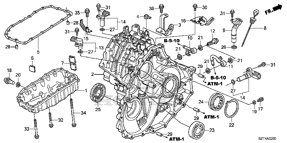 Nissan Cvt Transmission Parts Diagram on 2005 Honda Civic Fuel Filter