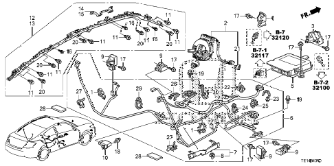 E46 Headlight Wiring Diagram besides 95 Honda Accord Diagnostic Connector Location further Honda Accord Srs Sensor also Diagram Of Fuse Box On 1999 Toyota Avalon as well P 0900c1528026a89d. on honda odyssey pcm location