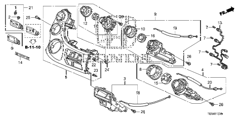2010 fit SPORT(SUZUKA PLANT) 5 DOOR 5MT HEATER CONTROL diagram