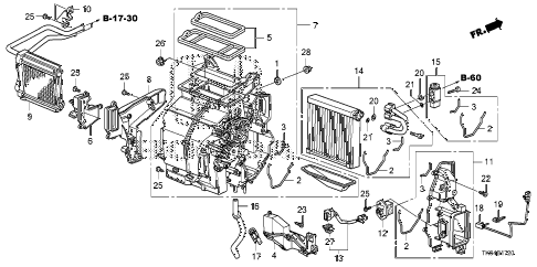 2010 fit SPORTN(NV,SUZUKA PLAN 5 DOOR 5MT HEATER UNIT diagram