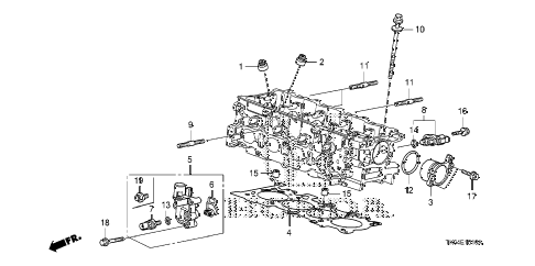 2010 fit SPORTN(NV,SUZUKA PLAN 5 DOOR 5MT SPOOL VALVE diagram