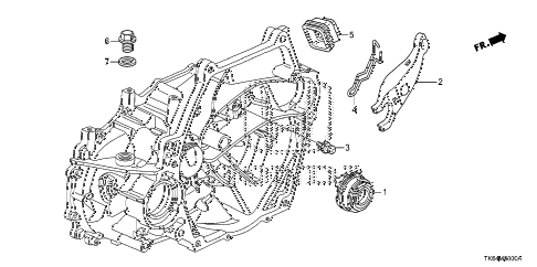 2012 fit SPORT(SUZUKA PLANT) 5 DOOR 5MT MT CLUTCH RELEASE diagram