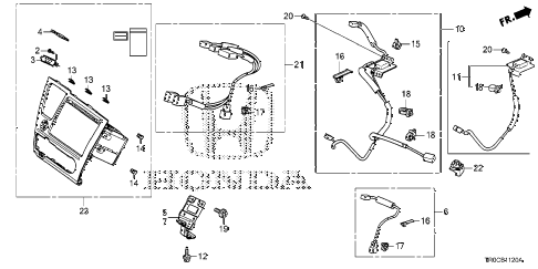 Sub02 together with Partslist furthermore Honda Qa50 Wiring Diagram together with Skil Saw Wiring Diagram in addition View Honda Parts Catalog Detail. on wire harness band