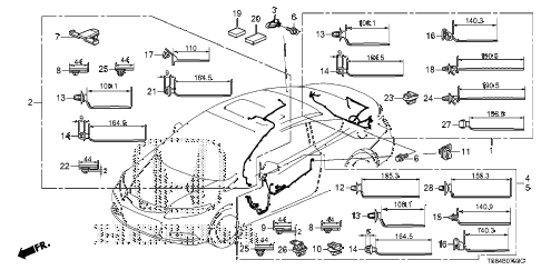 2012 civic DX 2 DOOR 5MT WIRE HARNESS (4) diagram